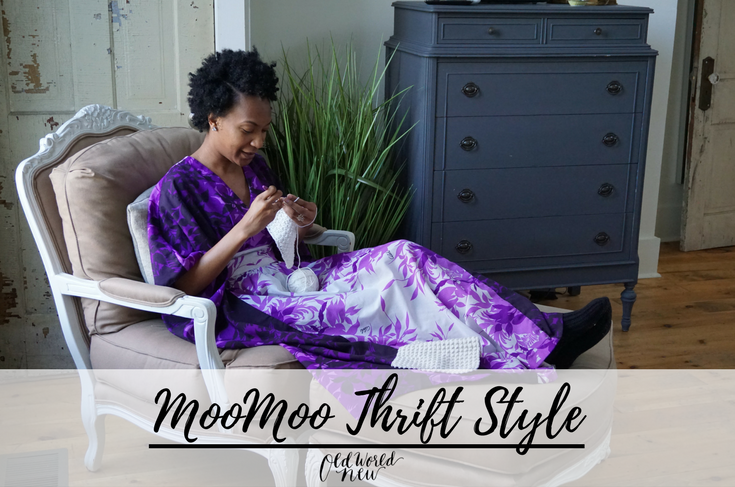 moomoo sustainable fashion thrift style via Old World New