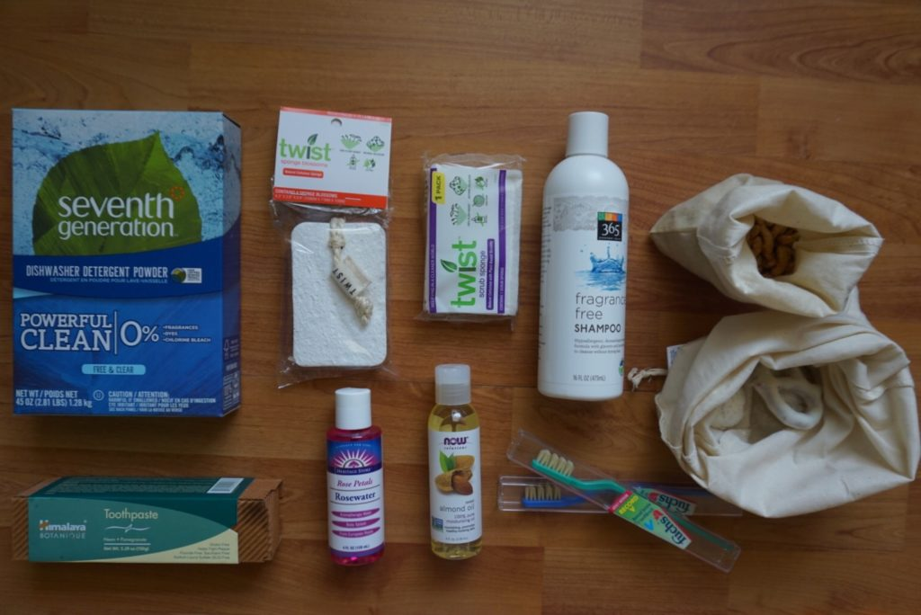 green cleaning non-toxic kitchen eco-freindly dishwasher detergent sustainable zero-waste kitchen