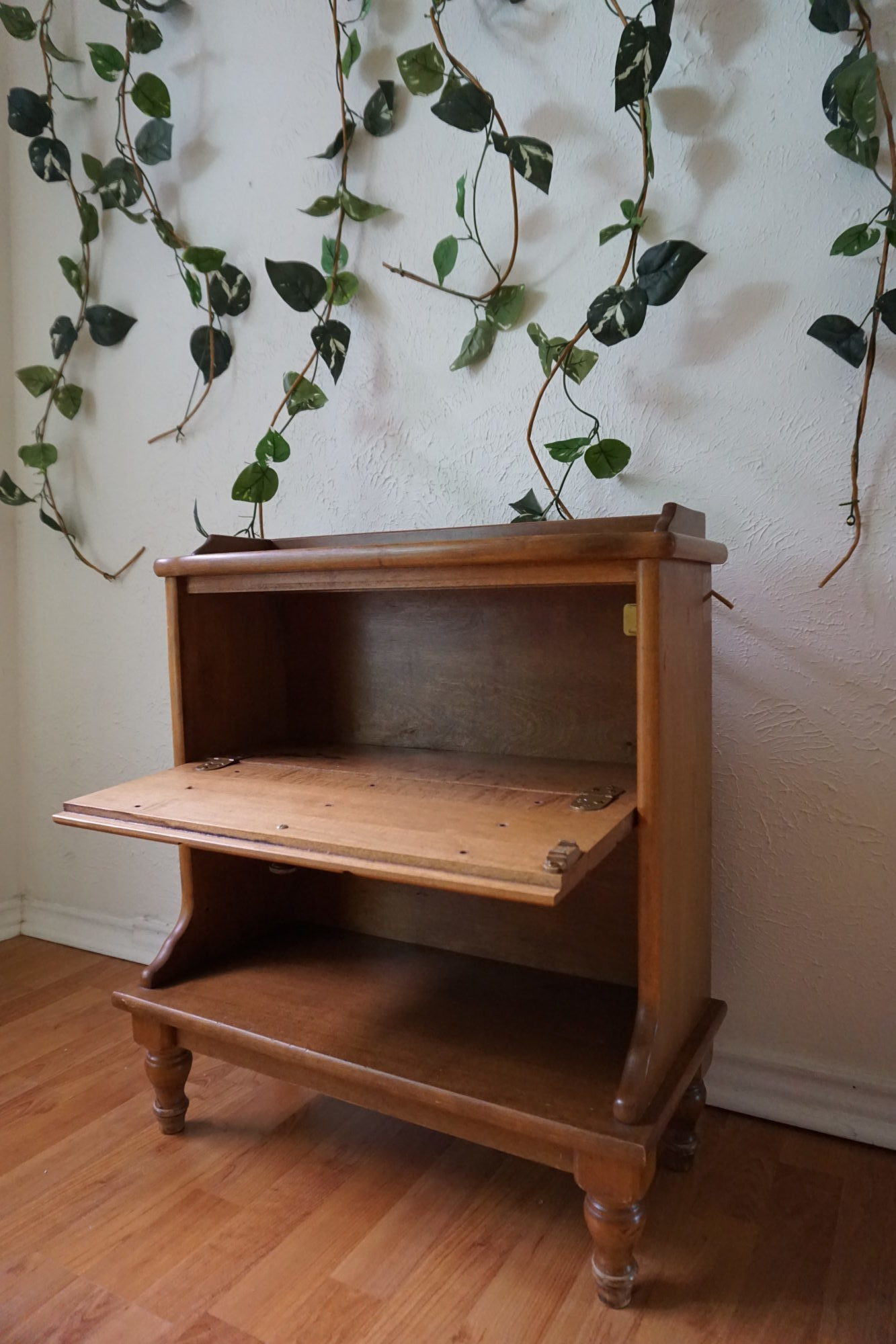 before - thrift store decor diy upcylce via Old World New