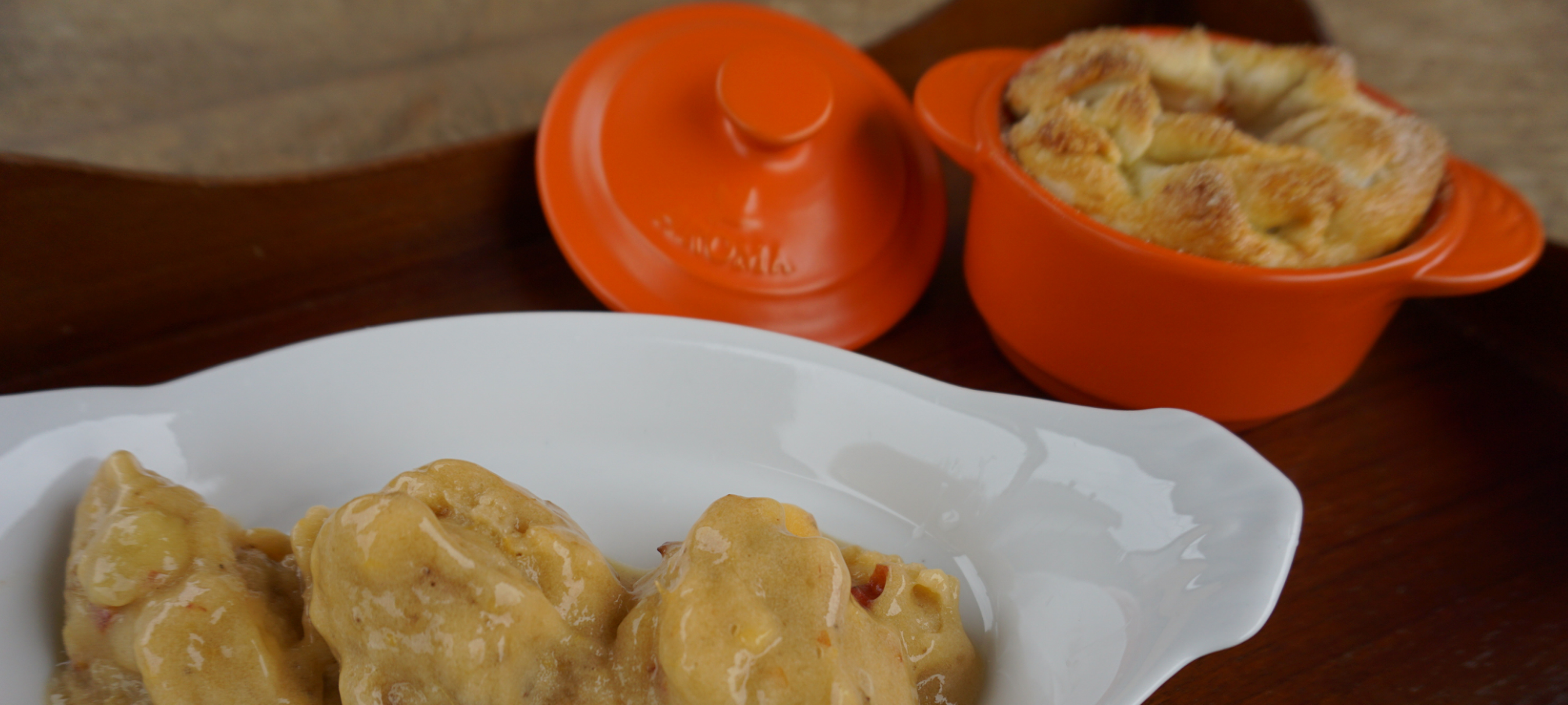 Ceramic Cookware + Peach Nice Cream Recipe