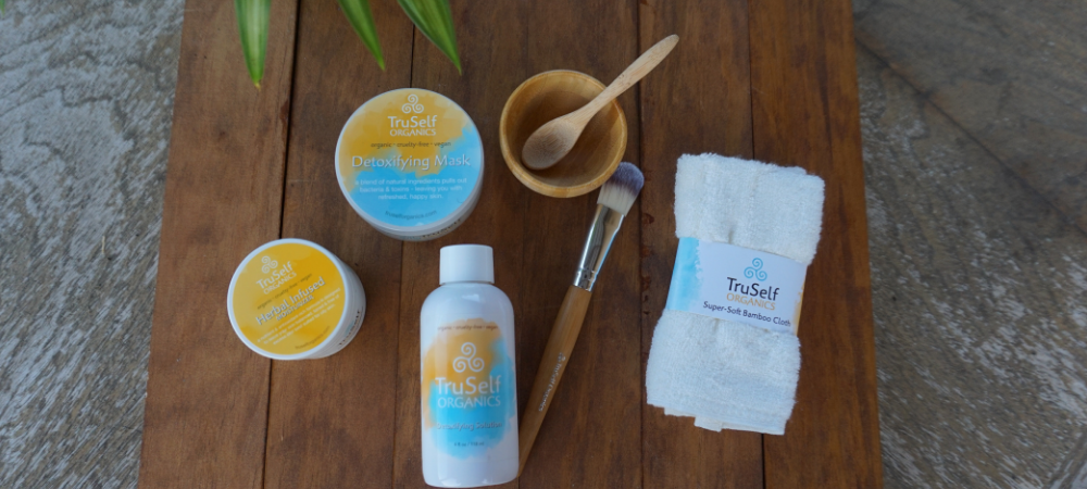 Detoxifying Clay Mask by TruSelf Organics for a Nap Time Spa Day