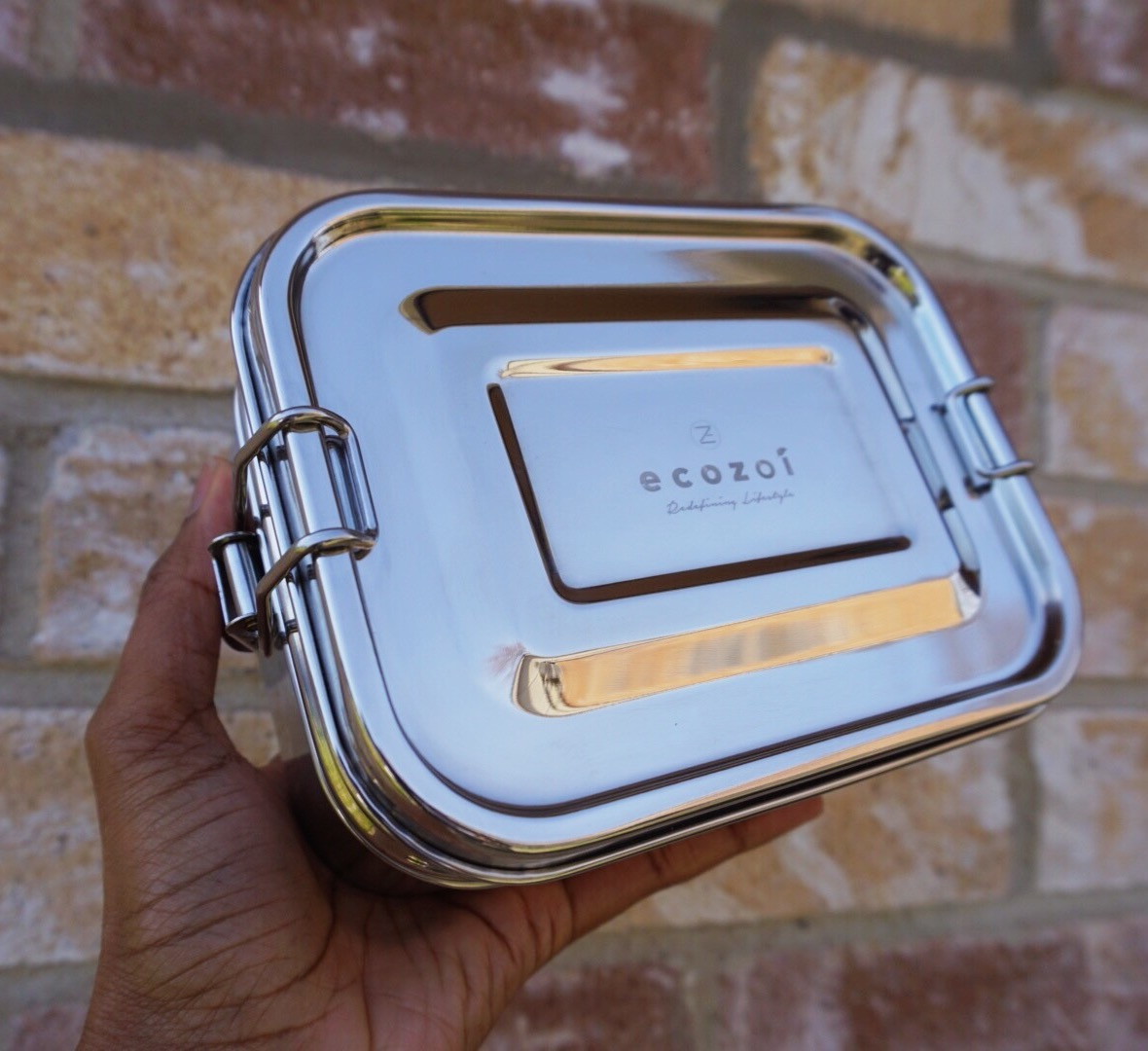 Ecozoi stainless steel zero waste bento box lunch container