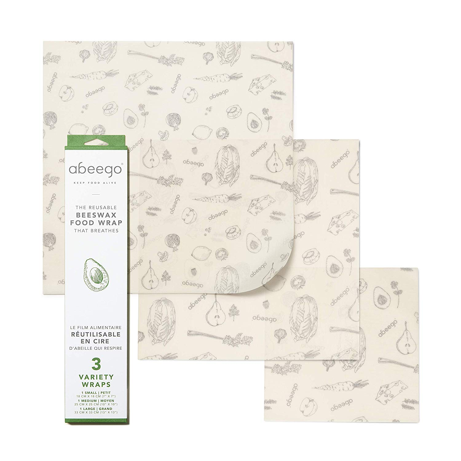 sustainable beeswax wrap abeego wrap