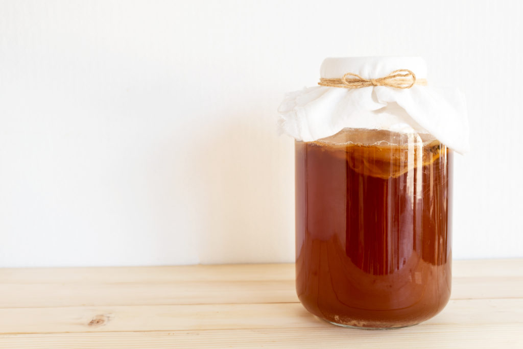 eco-friendly christmas gift - kombucha starter kit