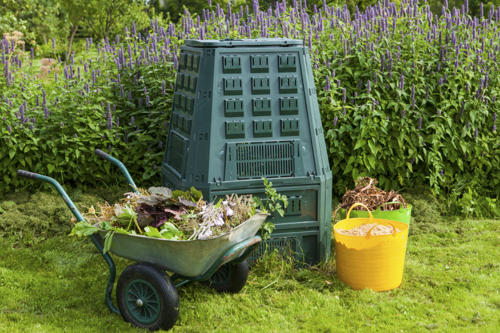 sustainable and eco-friendly christmas gifts - compost bin