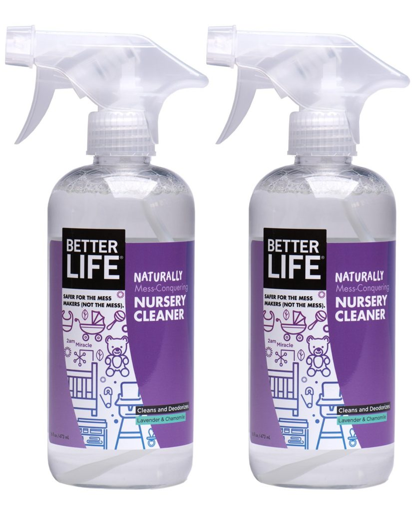 better life nursery cleaner non-toxic cleaning products