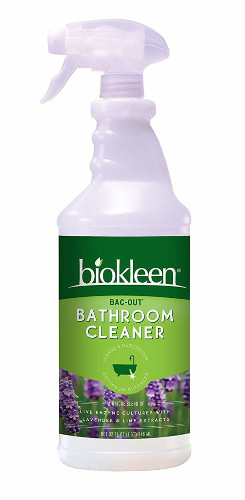 biokleen bathroom cleaner non-toxic cleaning