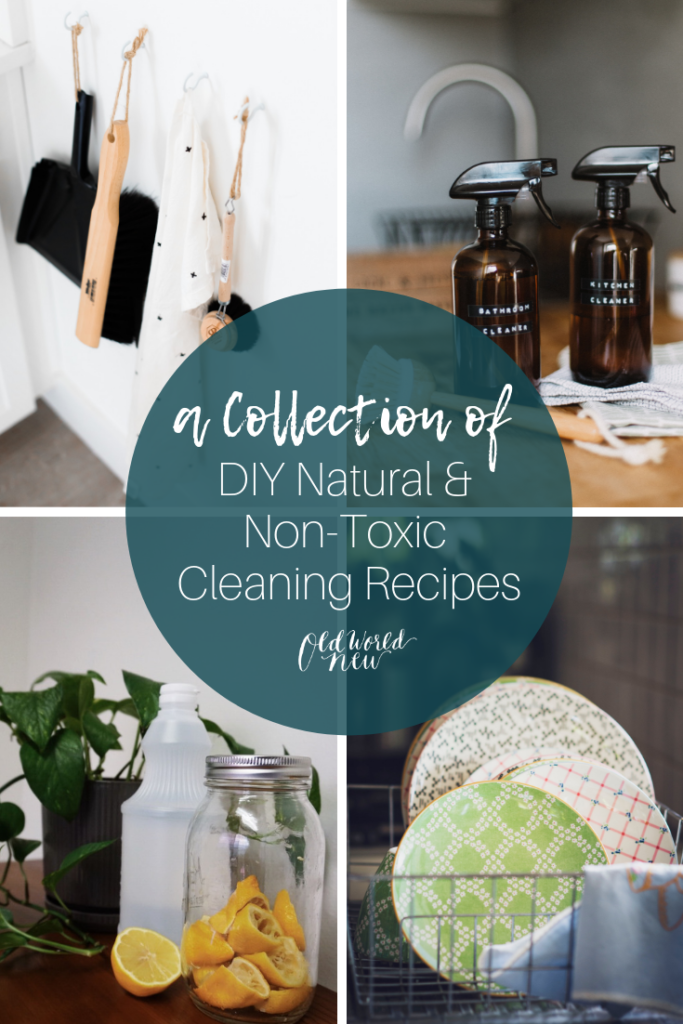 diy non-toxic cleaning recipes collection