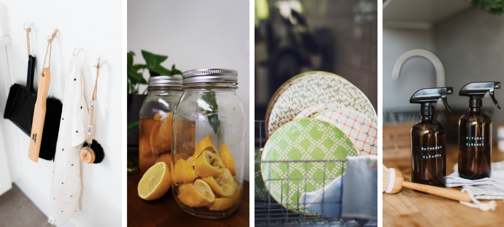 diy non-toxic cleaning recipes collection - featured image