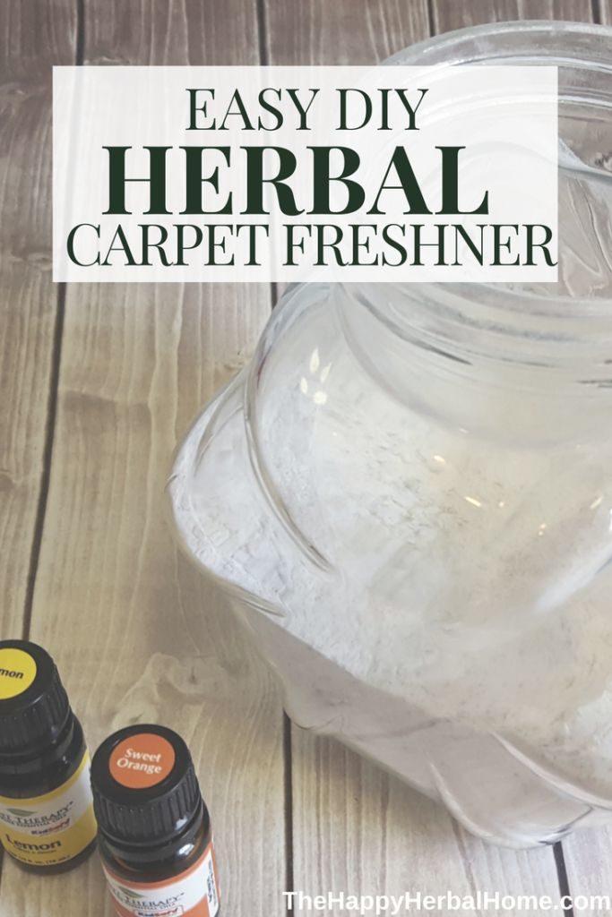 easy herbal carpet freshener
