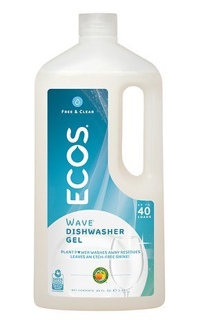 ecos natural and non-toxic cleaning products dishwasher detergent free and clear
