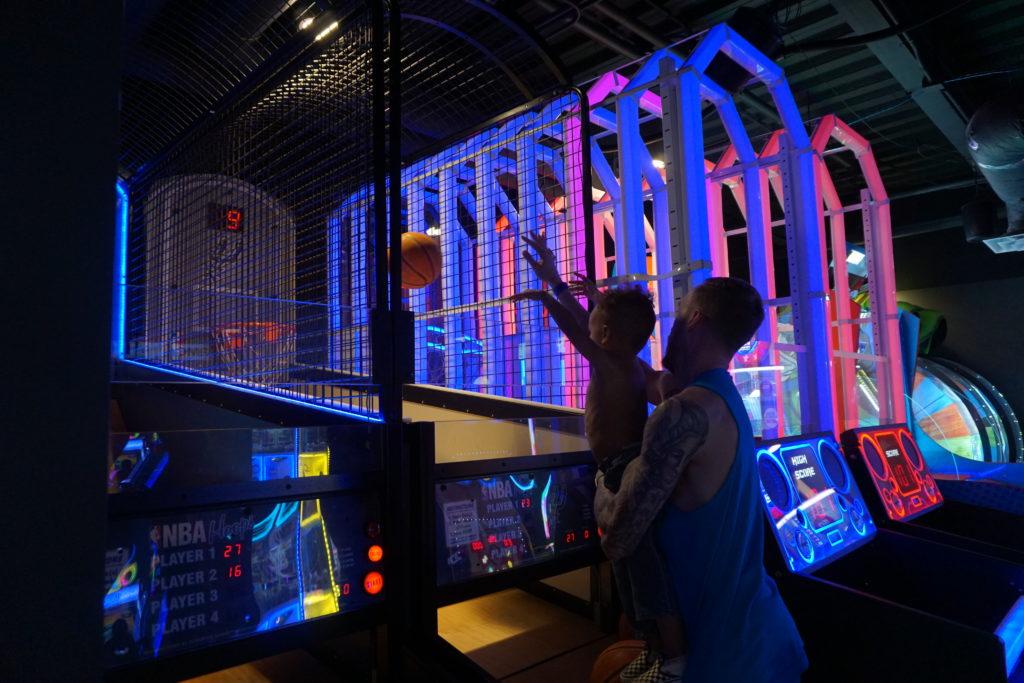 epic waters indoor waterpark arcade games