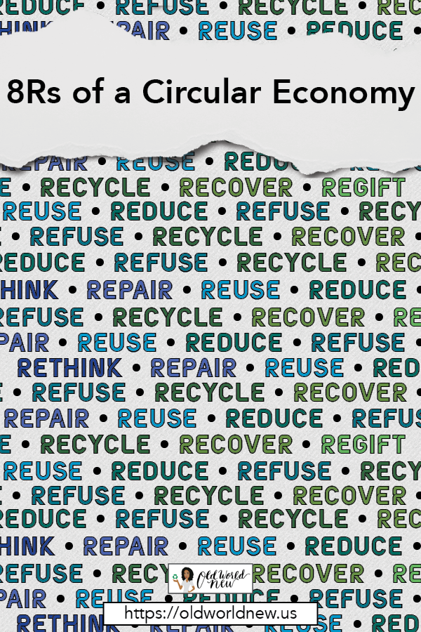 8Rs of a Sustainable Circular Economy
