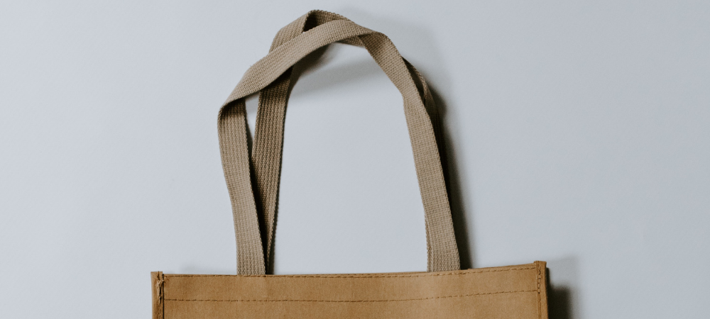 9 Single Use Plastic swaps - reusable bags