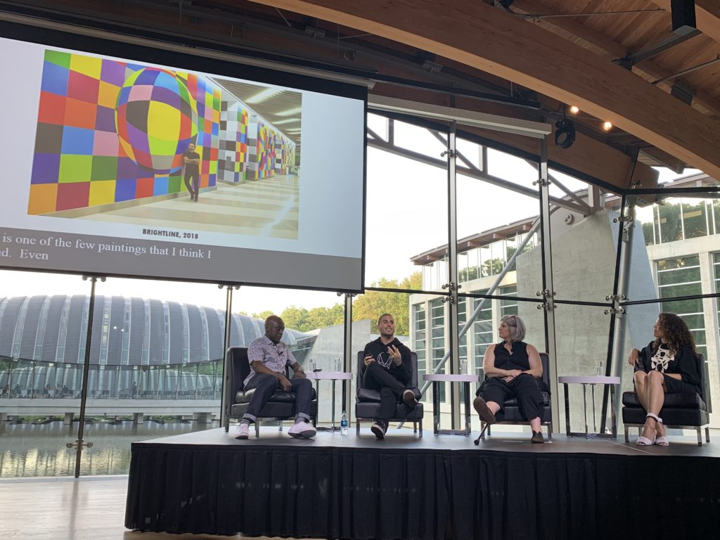Color Field artist panel at Crystal Bridges Museum of American art