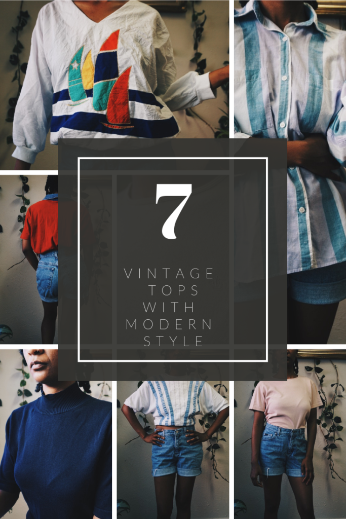 Vintage Tops with Modern Style