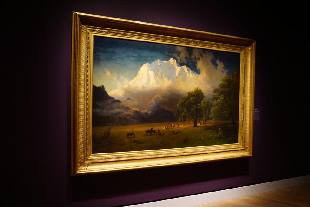 landscape painting - Summer at Crystal Bridges