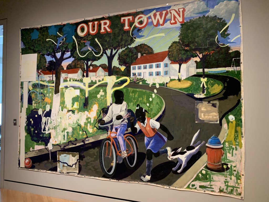 our town - kerry james marshall - crystal bridges museum