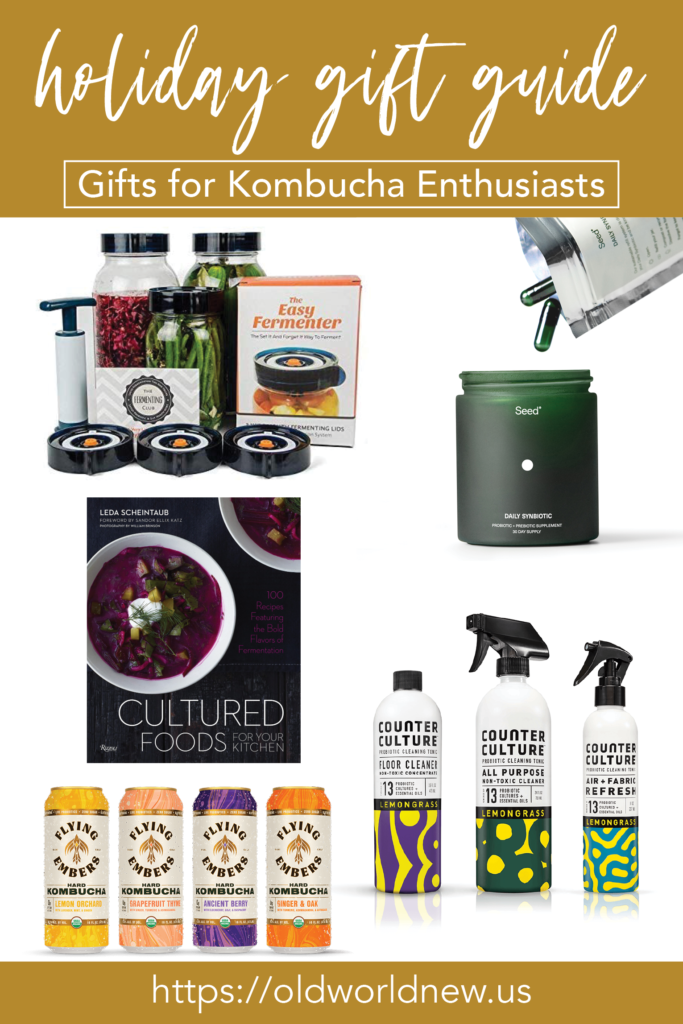 A Holiday Gift Guide for Kombucha Enthusiasts