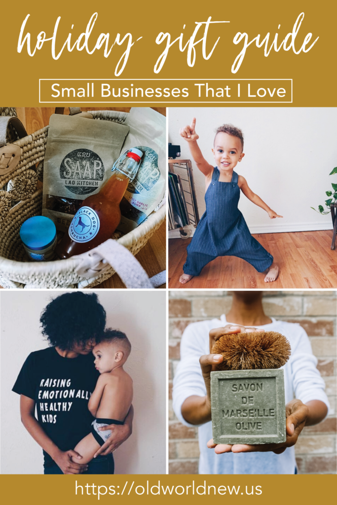 A Holiday Gift Guide for My Favorite Small Businesses