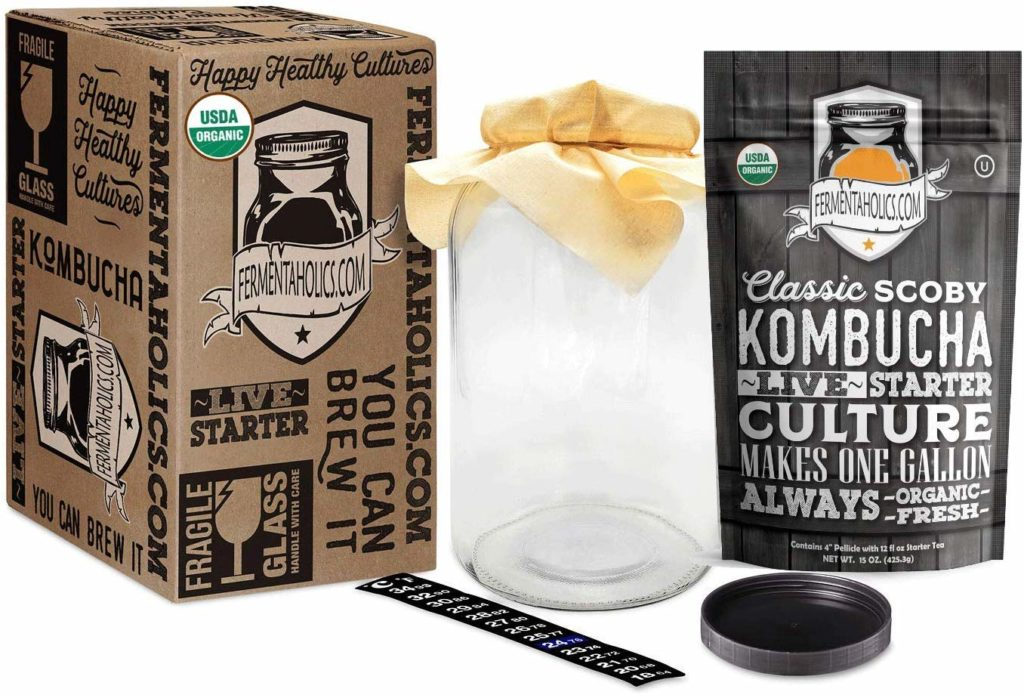 Fermentaholics - Kombucha Essentials Kit