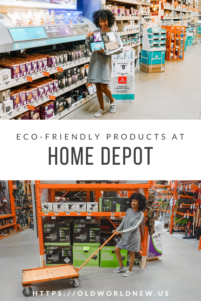Home Depot Eco Options Eco-Friendly Products