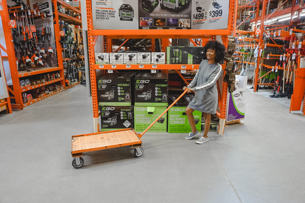 Home Depot Eco-Options: EGO Battery Push Lawn Mower