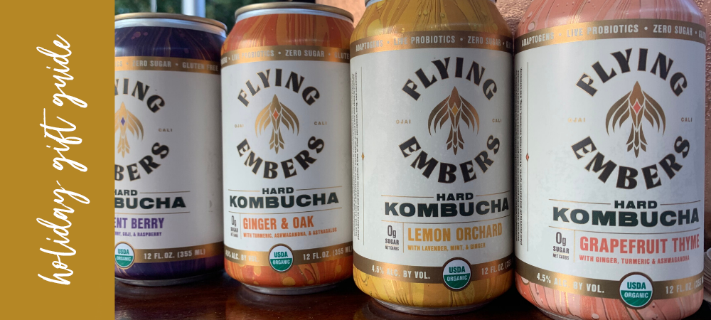 a gift guide for kombucha enthusiast