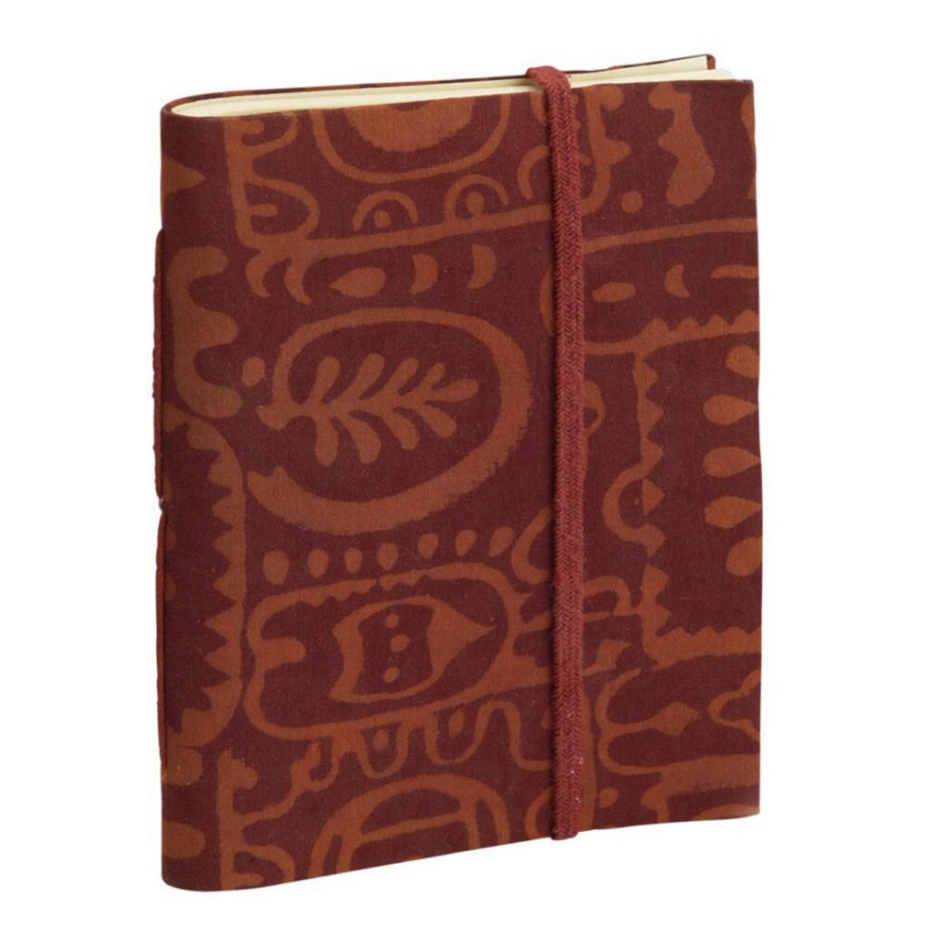 hygge gift guide - fair trade Indian block print journal