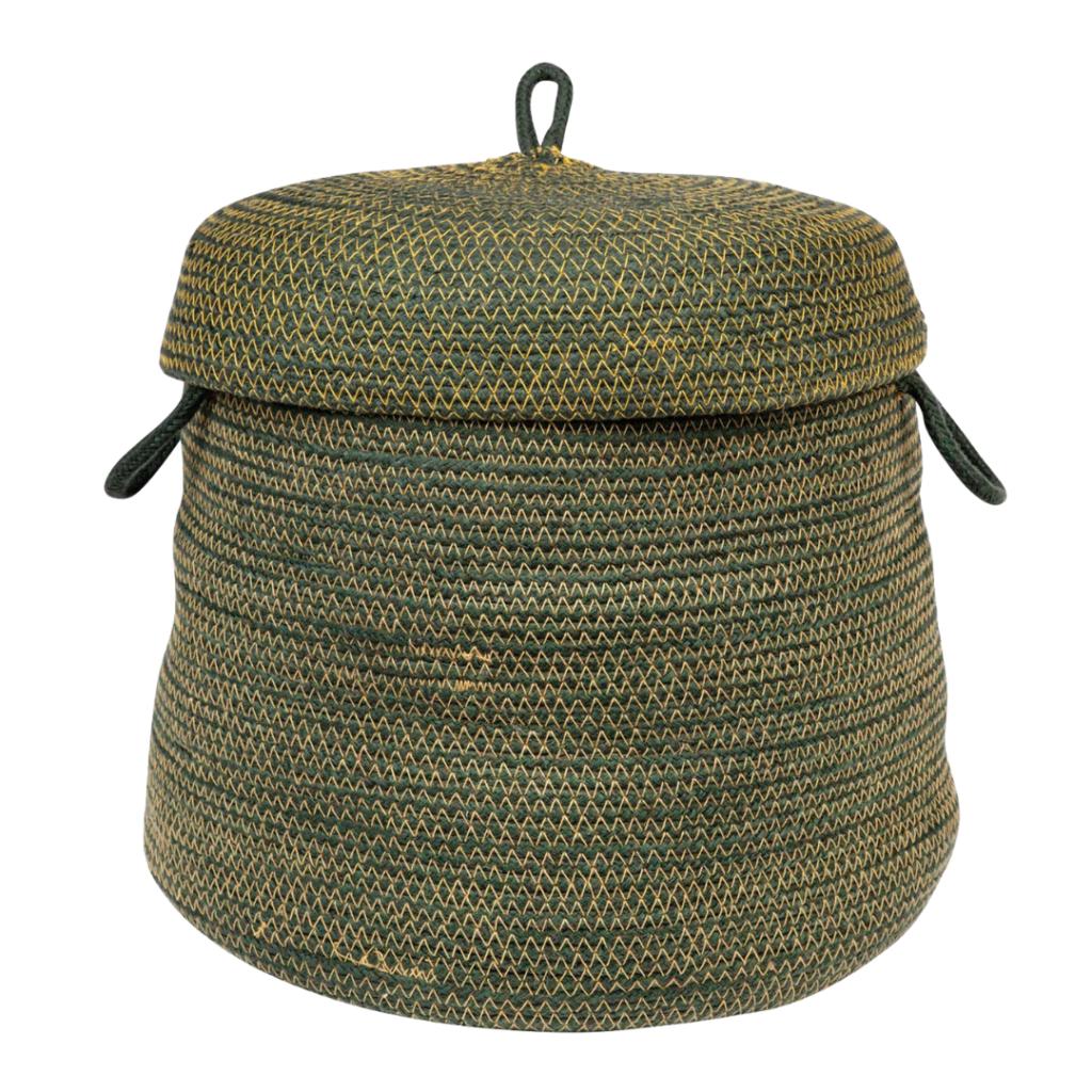 hygge gift guide - fair trade home decor woven basket