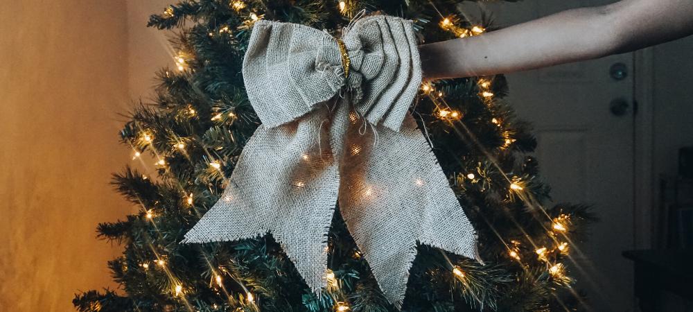 reuse Christmas decor