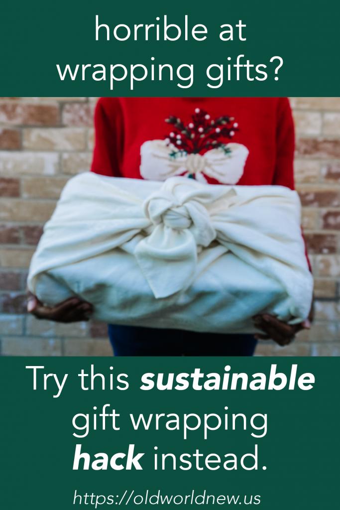 Eco-Friendly Holiday - Furoshiki Gift Wrap Alternative