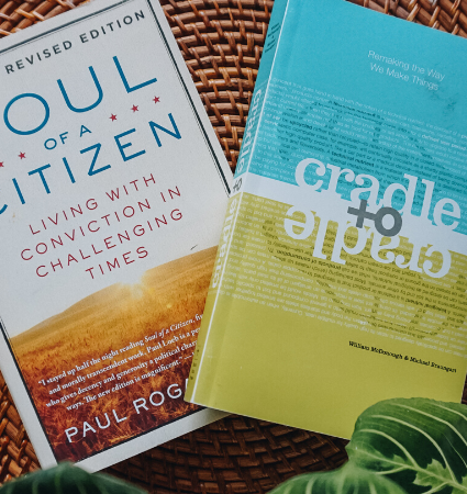 12 Sustainability Books I'm Reading in 2020