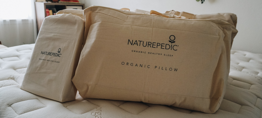 naturepedic organic mattress and pillows