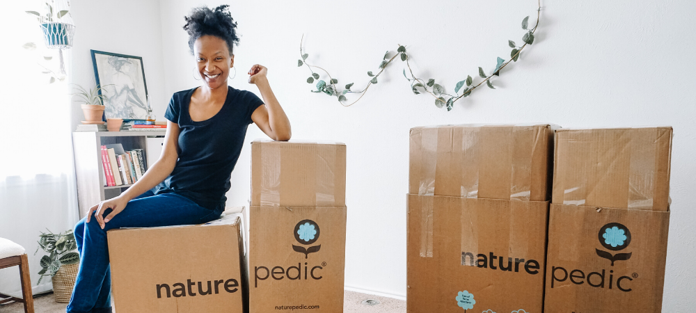 naturepedic organic mattress in a box