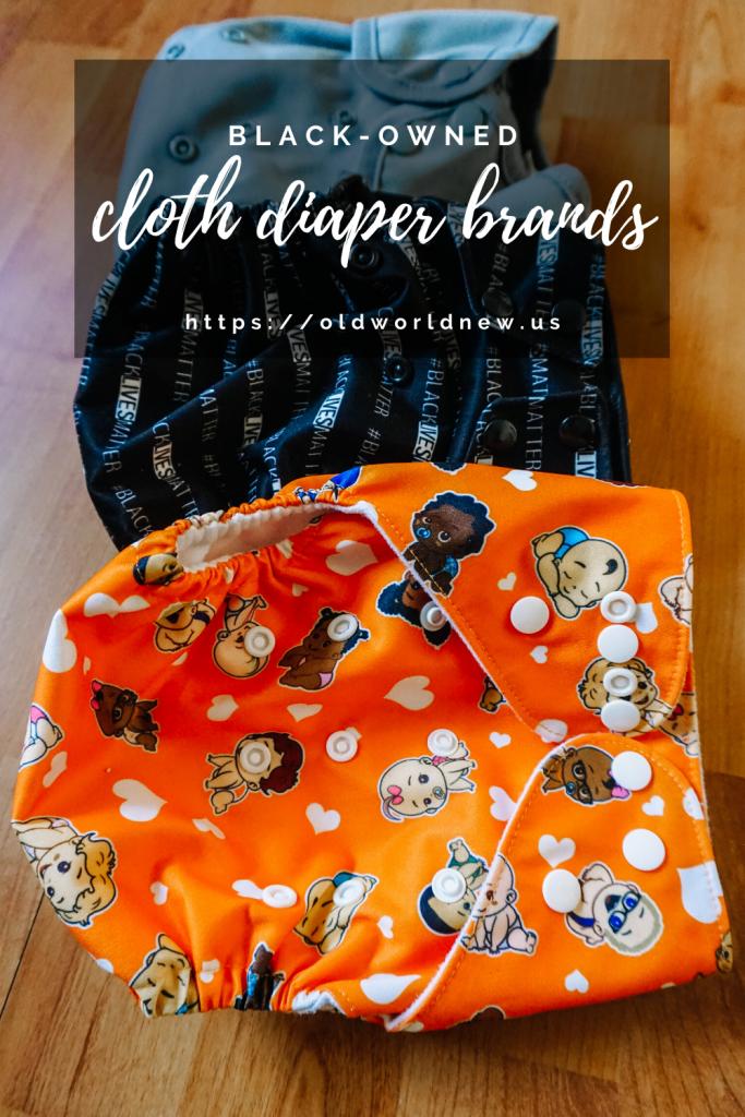 BLACK-OWNED Cloth Diaper Brands - Shop Online