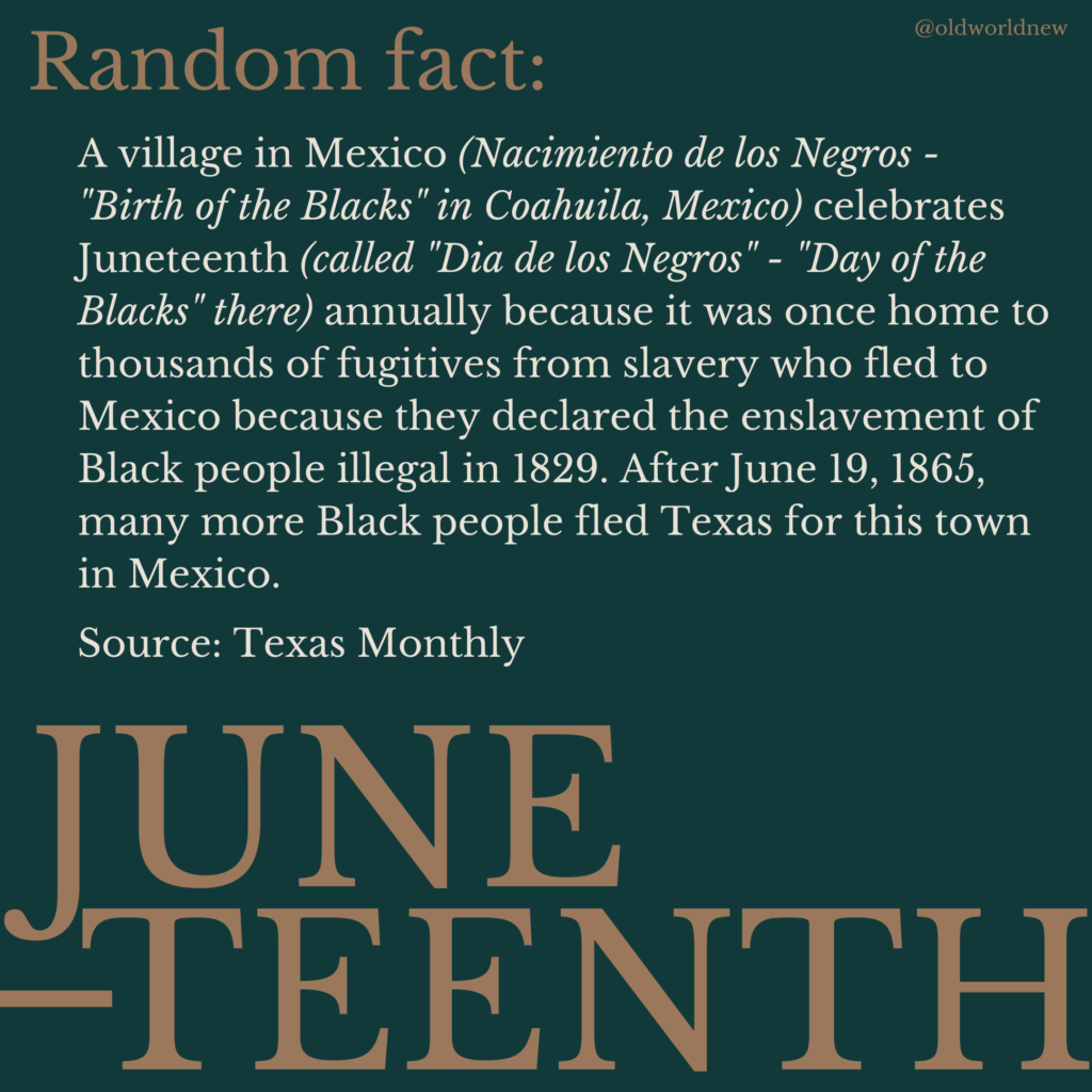 Juneteenth in Mexico