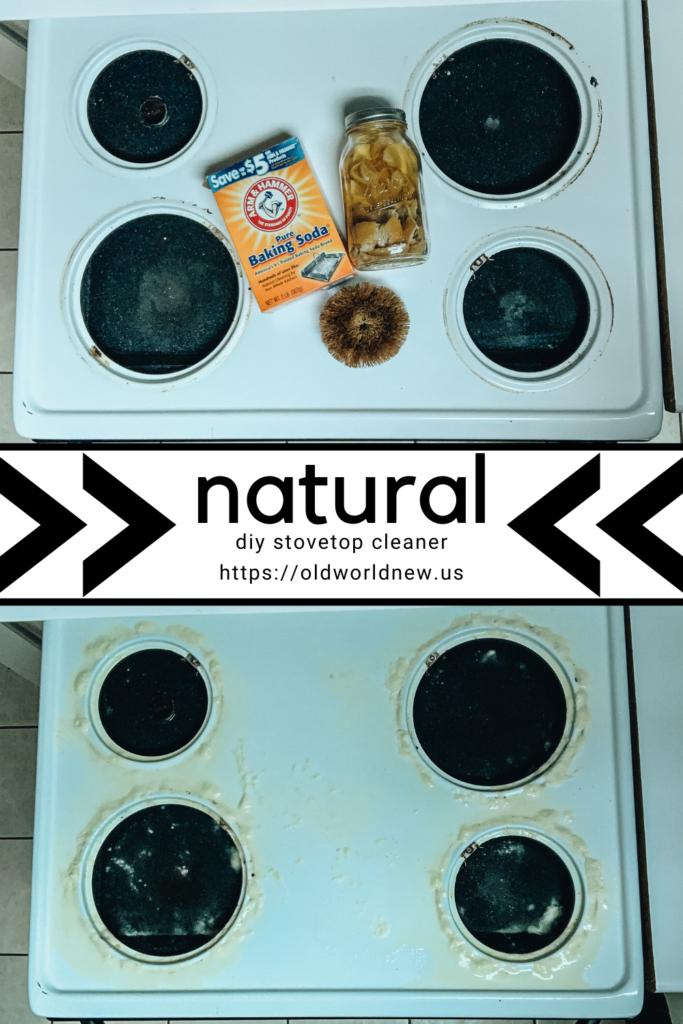 natural stovetop cleaner diy