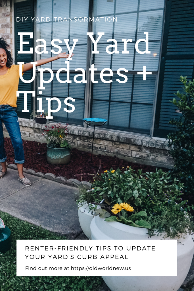 Easy Yard Updates + Tips - Vigoro Live Plants exclusively at The Home Depot