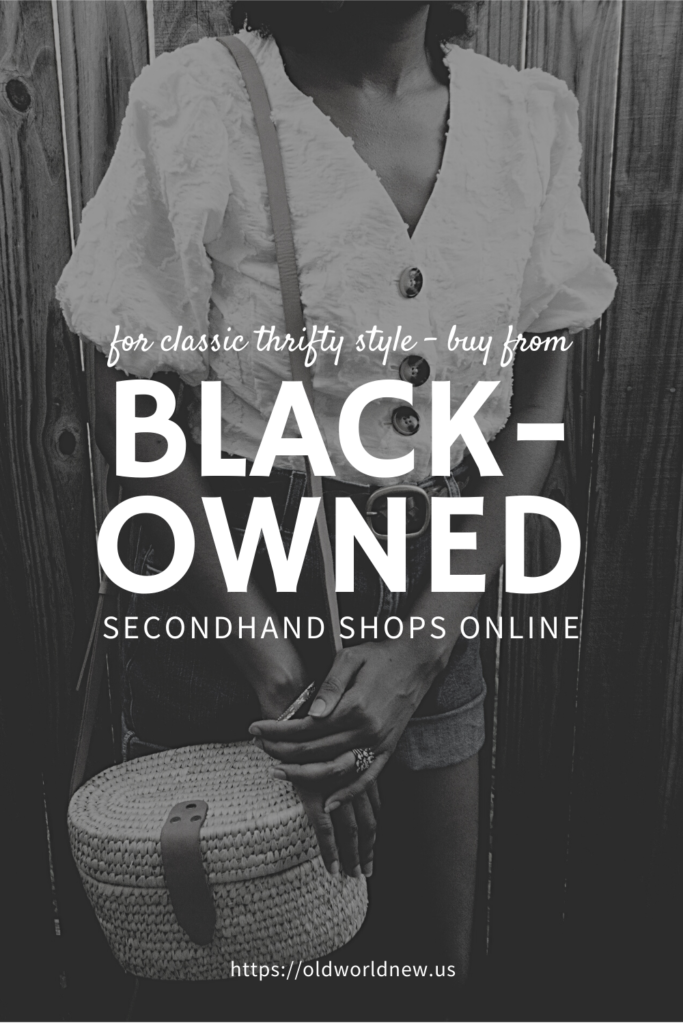 black-owned secondhand shops
