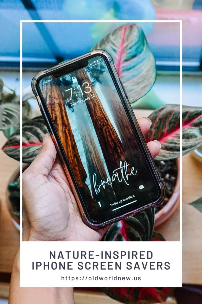 nature inspired iphone screen savers