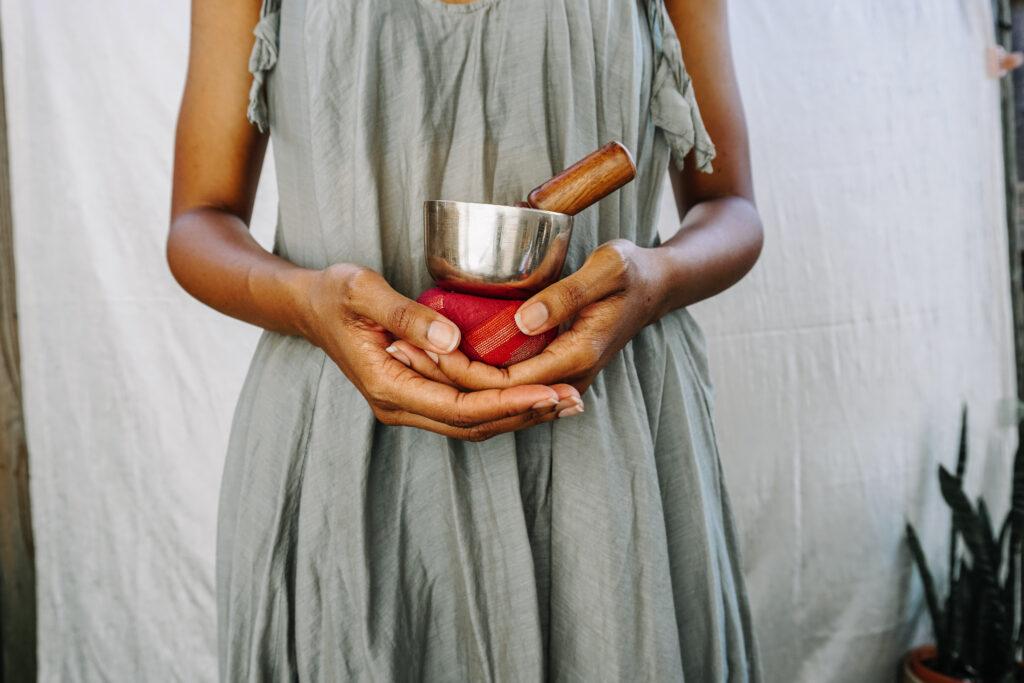 small singing bowl - fair trade