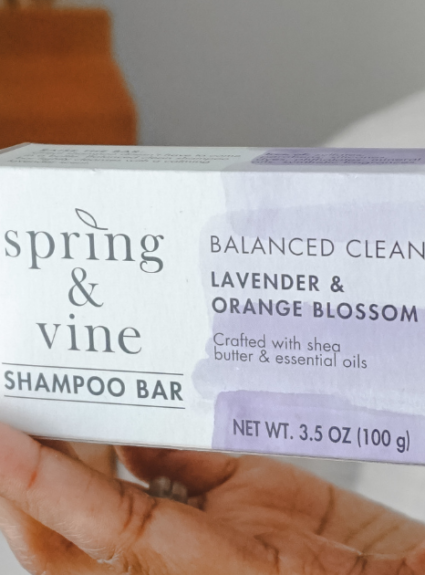 Low Waste Shampoo Bars by Spring & Vine