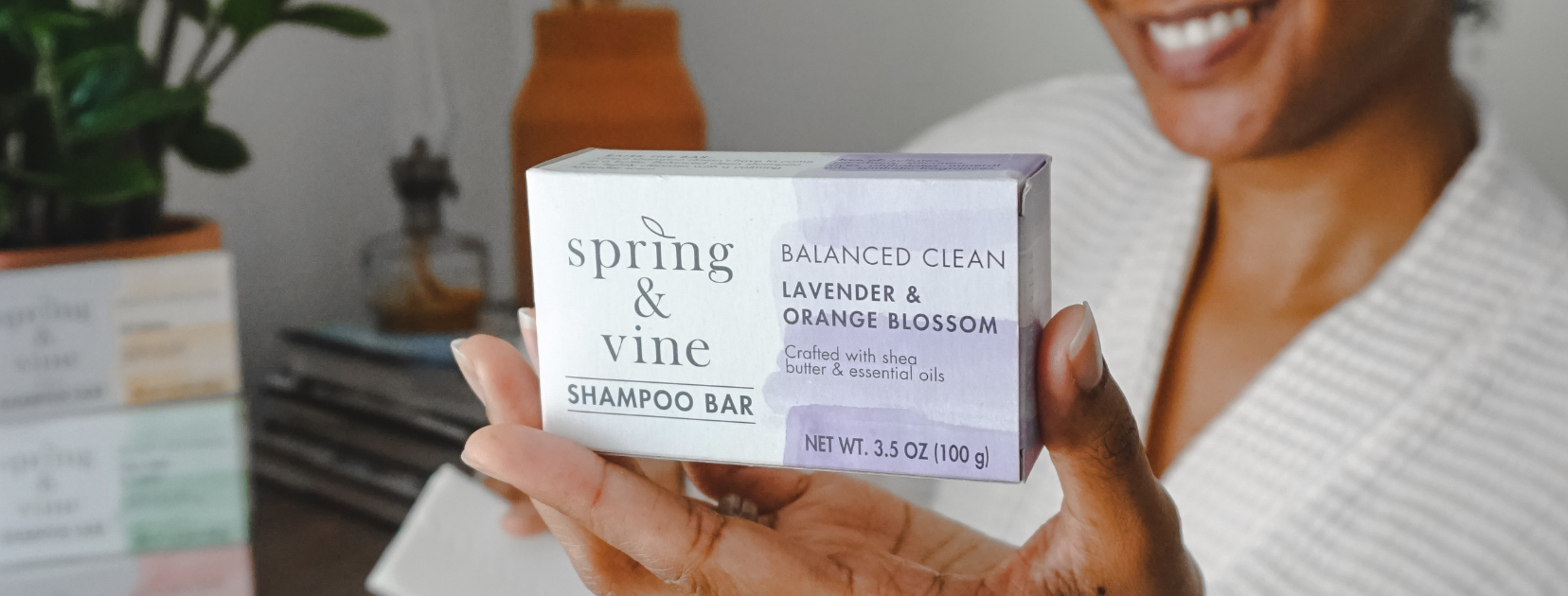 lavendar & orange blossom shampoo bar by Spring & Vine available at Target