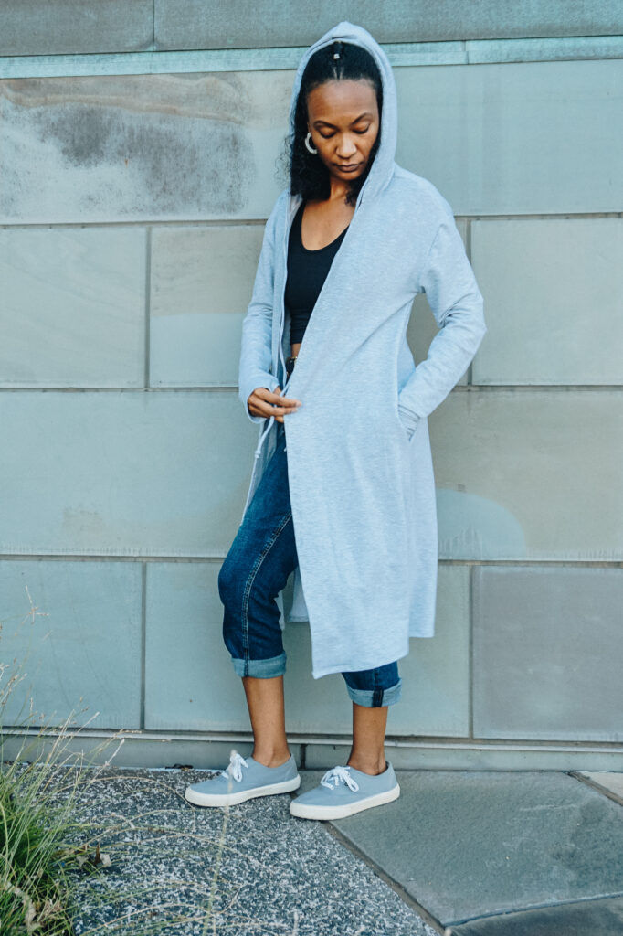 miakoda Long Hoodie Cardigan - sustainable loungewear
