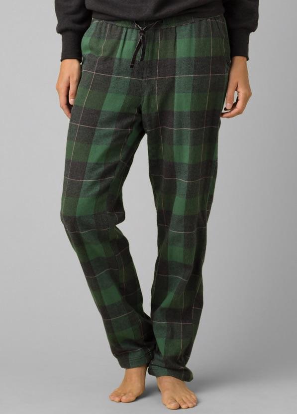 prAna lined organic cotton pajama pants - PEACOCK color