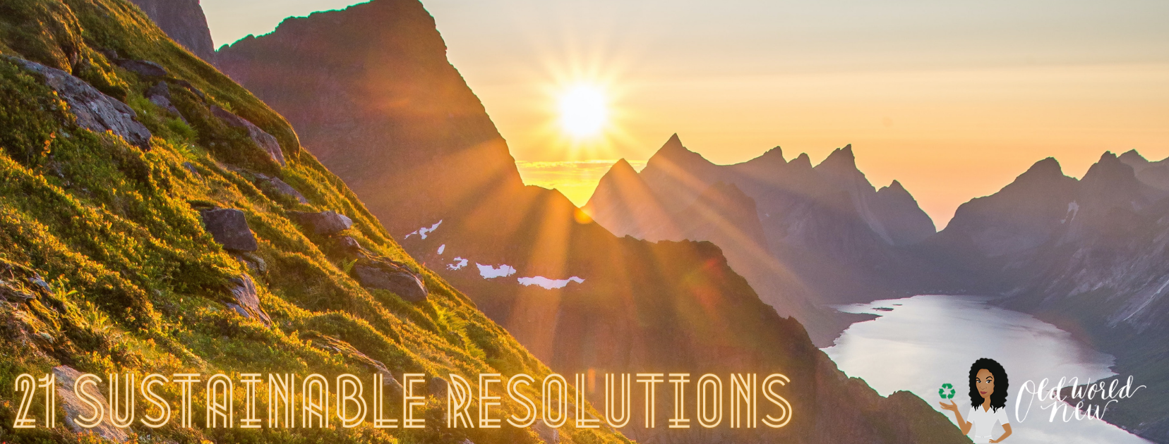 21 sustainable resolutions 2021 - Old World New